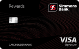 Simmons Bank: {Simmons Rewards Visa Signature®}
