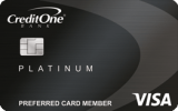 Credit One Bank®: {Credit One Bank® Platinum Visa® for Rebuilding Credit}