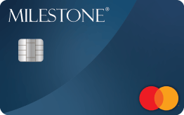 The Bank of Missouri: {Milestone® Mastercard® with Choice of Card Image at No Extra Charge}