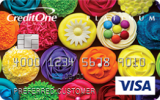 Credit One Bank®: {Credit One Bank® Platinum Visa® with Cash Back Rewards}