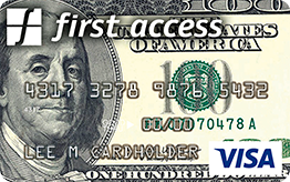 The Bank of Missouri: {First Access Money on the Move Visa® Credit Card}